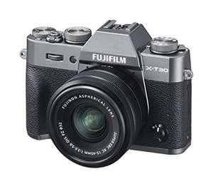 Fujifilm X-T30, Kit cámara con Objetivo Intercambiable XC15-45/3.5-5.6, Color Antracita