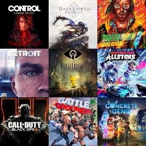 PS4/PS5 :: Detroit Become Human, Call of Duty Black Ops, Little Nightmares, Darksiders Genesis y otros (PS Now, PS+, Febrero 2021)