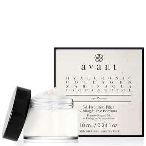 Rellenador de colágeno y ácido hialurónico 3 en 1 para ojos de Avant Skincare al 50%