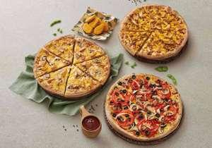 Prueba las nuevas pizzas veganas por 6€ (a recoger)