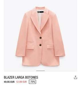 Blazer larga talla L