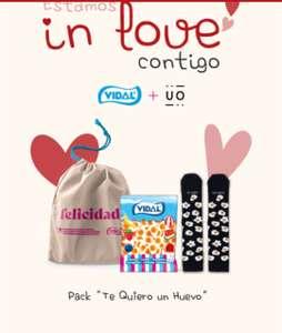 Packs San Valentín de Golosinas Vidal + Envío Gratis sin mínimo (toda la web) +10% Descuento extra