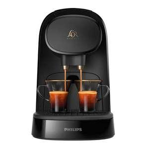 Cafetera Philips para cápsulas L'OR y Nespresso + 20€ en café al registrar la cafetera!! Y 9 cápsulas nespresso