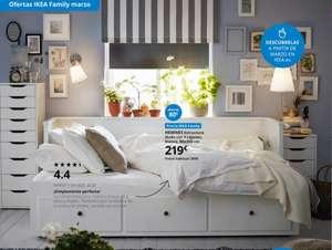 Diván Ikea Hemnes (Marzo)
