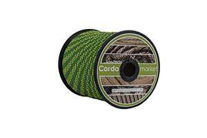 Cordamarket driza nylon platinium lne 8 mm amarillo/verde 50 mts Escalada