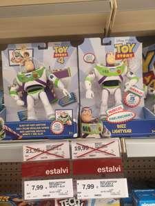Buzz lightyear baratito Supermercado Esclat de Sant Feliu de Guíxols