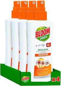 4x 100ml Bloom repelente mosquitos y garrapatas solo 5.9€ (a precio de 1ud)