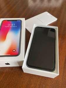 iPhone X 256 Gb - Gris espacial - Libre (Backmarket)