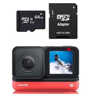 Insta360 One R 4K 64GB Edition UK con Gran Angular 4K y Tarjeta de 64GB
