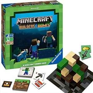 Juego de mesa Minecraft Builders & Biomes
