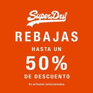 Rebajas Superdry hasta un 50% de descuento hombre y mujer