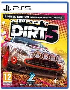 Dirt 5 Limited Edition Amazon: PS5 por 39,90€ / PS4 por 21,09€ / Xbox One por 23,40€