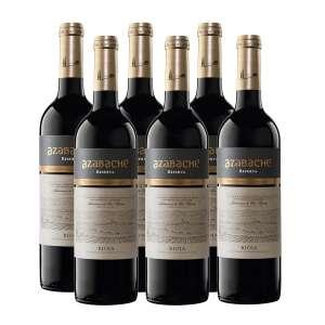 Caja 6 botellas Tinto Reserva 2016 DOCa Rioja Azabache 75 cl