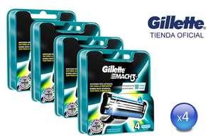 16 reemplazos Gillette Mach 3 tienda oficial GILLET