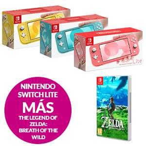 Pack Nintendo Switch Lite + The Legend of Zelda: Breath of the Wild
