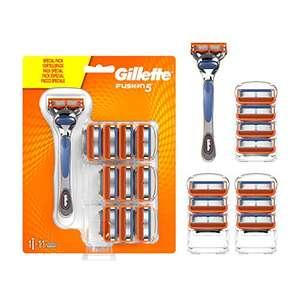 Gillette Fusion 5 Maquinilla de Afeitar Hombre + Cuchillas de Recambio