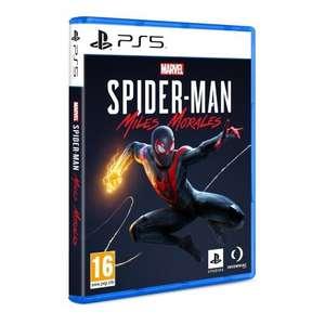 Juegos PS5: Spid. Miles Morales por 39,59€ / Sackboy por 46,80€ / Demon's Souls por 50,39€