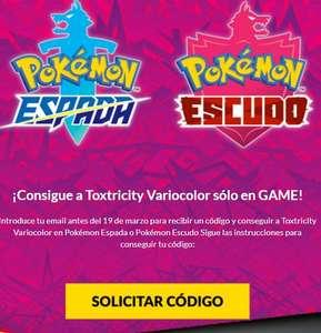 GRATIS :: Toxtricity VarioColor para Pokémon Espada y Escudo