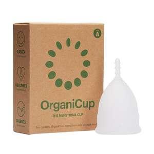Copa menstrual OrganicCup Talla mini, mediana y grande