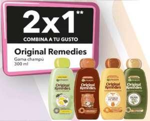 2x1 en champús Original Remedies de 300 ml.