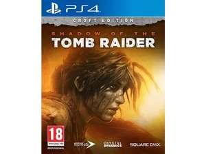 PS4 Shadow Of The Tomb Raider Croft Edition (recogida en tienda)