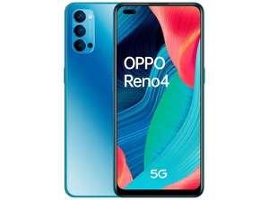 OPPO Reno 4 5G, Azul, 128 GB, 8 GB, + Bolsita de chupachups (o cualquier chorrada de 1 €)