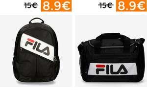 Preciazos en mochilas y bolsas deportivas FILA