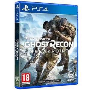 Tom Clancy's Ghost Recon Breakpoint [PS4] FNAC 9,49 € socios | 9,99 € no socios