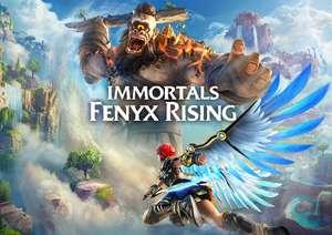 Immortals Fenyx Rising código de descarga