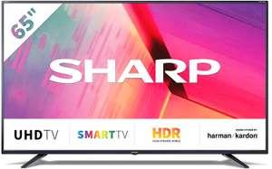 """TV Sharp 65"""" 4K UltraHd Harman Kardon"""