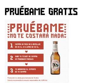 Prueba gratis Cerveza Victoria (Reembolso)