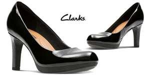 Zapatos Clarks mujer piel. Tallas 36 a 42. Críticas excelentes