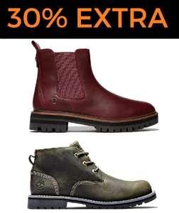 Hasta 50% + 30% EXTRA en Timberland