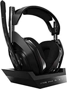 ASTRO Gaming A50 Auriculares inalámbricos para gaming y estación-base de carga, 4ta gen.