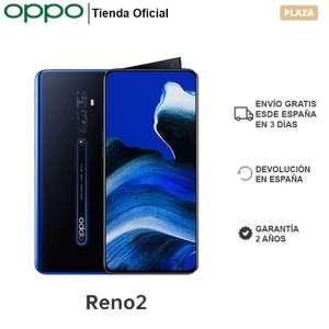 """OPPO Reno 2 8GB/256GB, Smartphone, 6,5"""" FHD+, Dual SIM, CPU SDM730G, VOOC 3.0, ColorOS 6.1+ Android 9, NFC, 2 Años de Garantía"""