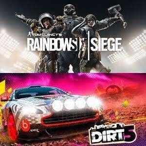 Juega GRATIS DIRT 5 y Tom Clancy's Rainbow Six Siege #XBOX