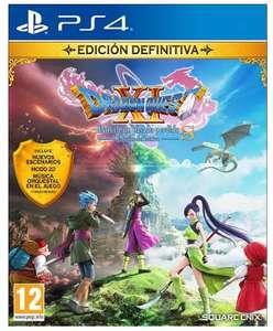 Dragon Quest XI Edición definitiva solo 25.9€