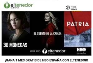HBO 1 MES GRATIS RESERVANDO CON EL TENEDOR