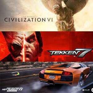 Juega GRATIS Sid Meier's Civilization VI, TEKKEN 7 y Need for Speed™ Hot Pursuit Remastered #XBOX