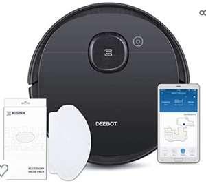 ECOVACS DEEBOT OZMO 950 Care, Robot Aspirador 2 en 1 con función de Limpieza y navegación Inteligente, Google Home, Alexa +50 recambios