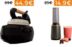 Centro de planchado Ikohs 44.9€ // Batidora de vaso 14.9€