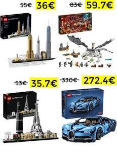 Bajada de precio en sets Lego desde 35.7€