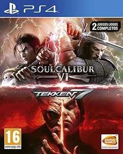 Pack: Tekken 7 + SoulCalibur VI Juego PS4