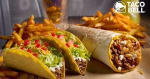 Burrito San Diego solo 1 euro en Taco Bell con deliveroo