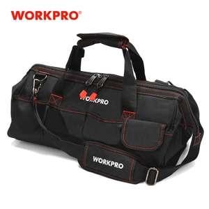 Bolsa de herramientas WORKPRO 30cm solo 7.1€ (desde España)