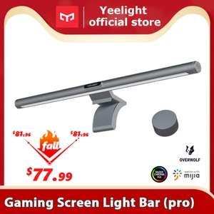 Yeelight Barra de luz para pantalla de Juegos de ordenador, protección para los ojos