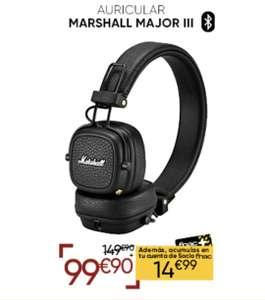 Descuento del 33% en Auriculares Bluetooth Marshall Major III Negro