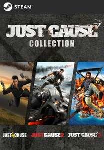 PC (STEAM): Just Cause Collection por sólo 6,59€
