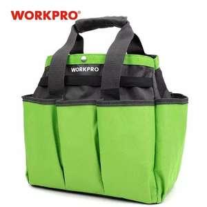 2x1 WORKPRO-Bolsa de herramientas para jardín
