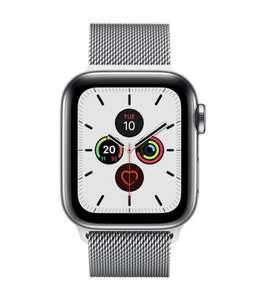 Apple - Watch Series 5 OLED 40 mm Acero inoxidable 4G GPS (satélite)